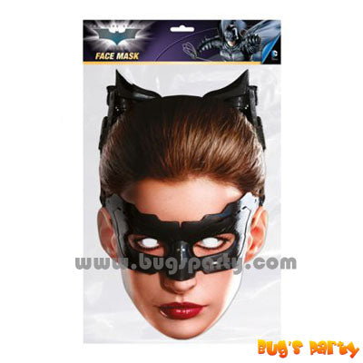 Catwoman Cardboard Mask