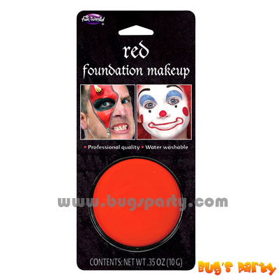 Red Color Foundation Make Up