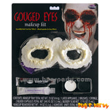 Halloween gouged eyes make up kit