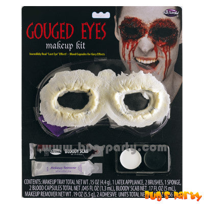 Hanging Eye Halloween Spooky Costume Party Eye Cover Appliance Makeup Kit