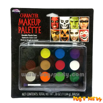 12 Colors Face Paint Palette