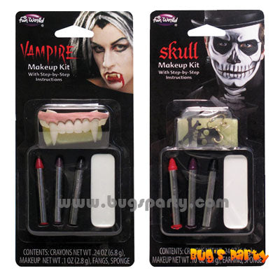 Vampire Skeleton Makeup Kit