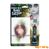 Zombie Tattoo Makeup Kit