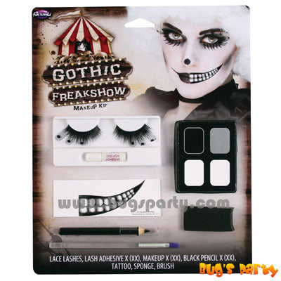 Gothic Freak Show Makeup Kit