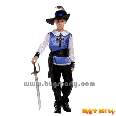 Royal warrior blue costume for boy