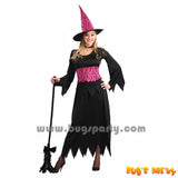 Lacy Pink Witch Costume