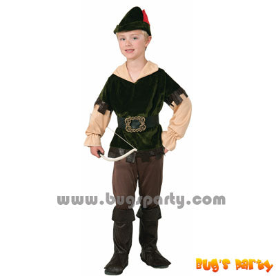 Archer Woodsman Boy Costume