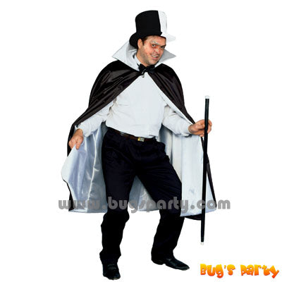 Phantom Reversible Black White Cape