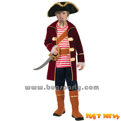 Pirate Captain Boy Costume