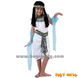 Egyptian girl white costume