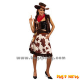 cowgirl wild west costume