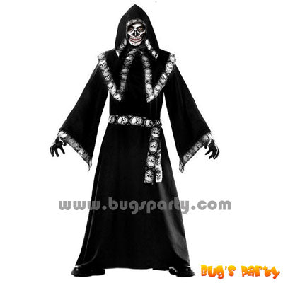 black wizard sorcerer adult Halloween costume