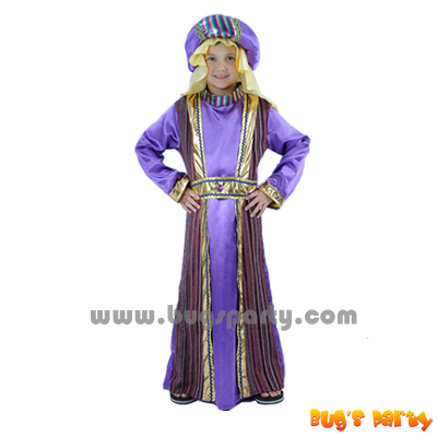 Arab prince purple color costume