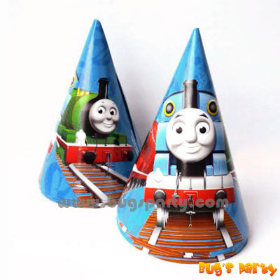 Thomas Train Cone Hats
