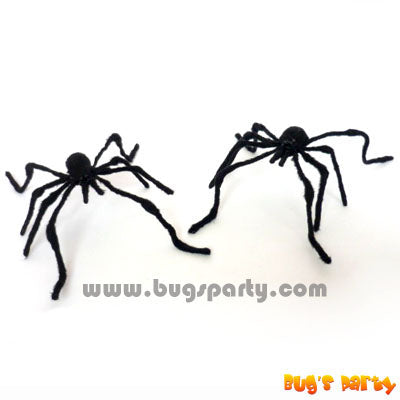 Spider Black Plush