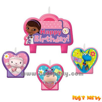 Doc McStuffins Candle Set