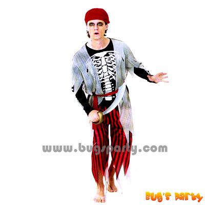 Costume Skeleton Pirate