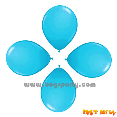 Balloon 6in Rnd Baby Blue