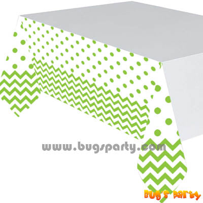Kiwi Chevron Table Cover