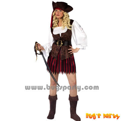 Costume Pirate Buccaneer Fe