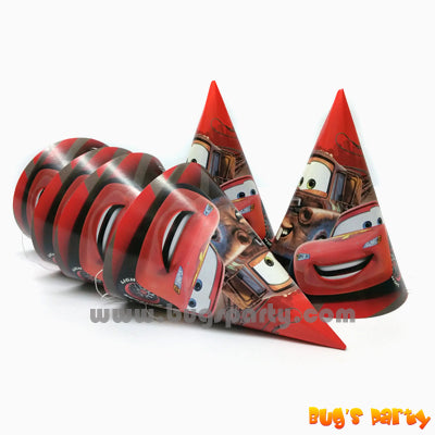 Disney Cars Cone Hats