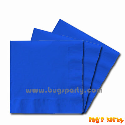 Blue color paper Napkins