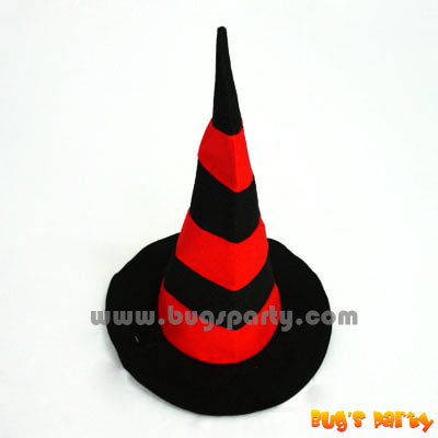 Hat Witch Stripe