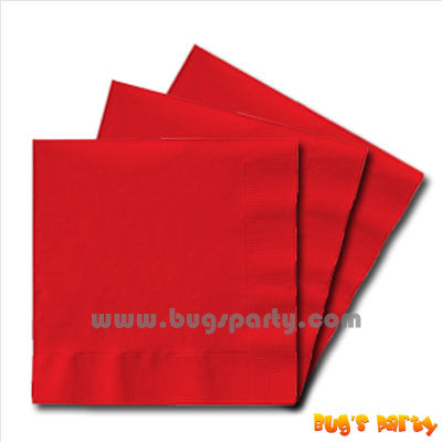 Red color Napkins