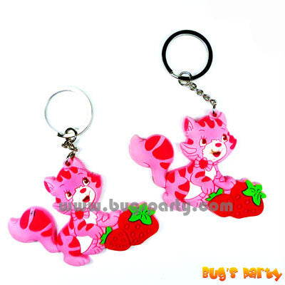 Strawberry Shtcake Keychain