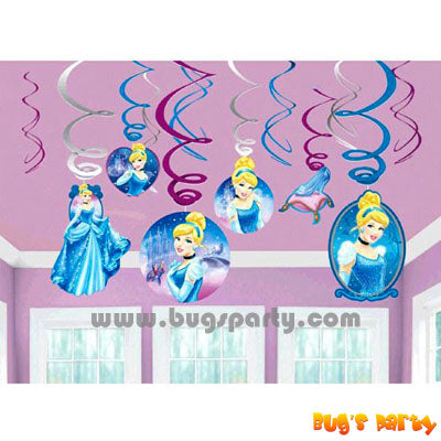 Disney Cinderella Swirls Decor