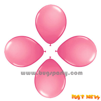 Balloon 6in Rnd Pink