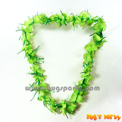 Lei Tinsel Green