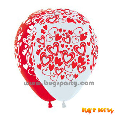 Balloon Lx FL Hearts