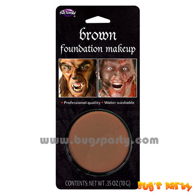 Foundation Make Up Brown
