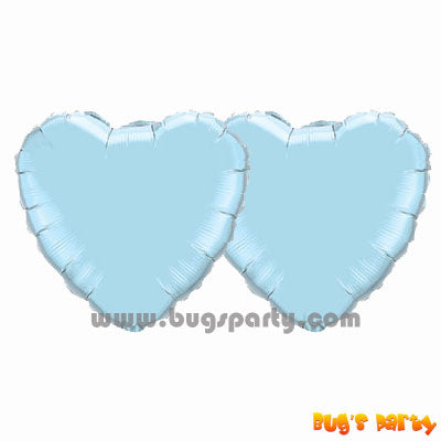 Balloon Heart Light Blue