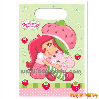 Strawberry Shortcake Treat Sacks
