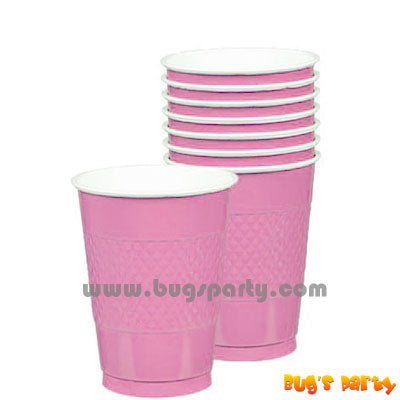 Pink color Plastic Cups