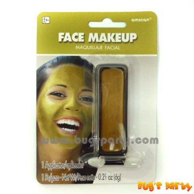 Face Makeup Gold