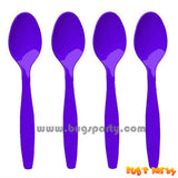 Purple Spoons