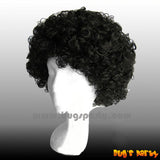 Wig Curly S Black