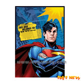 Superman Treat Bags