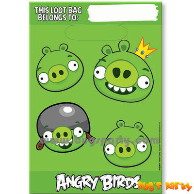 Angry Birds Treat Sacks