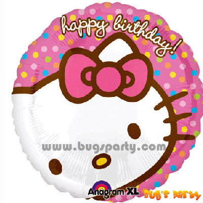 Hello Kitty Face Balloon