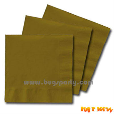 Gold Color paper Napkins