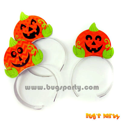 Pumpkin Headbands 6