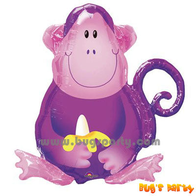 Balloon Monkey Shape
