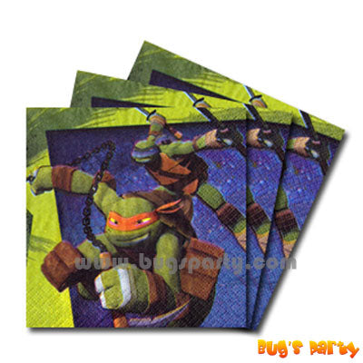 TM Ninja Turtles Napkins