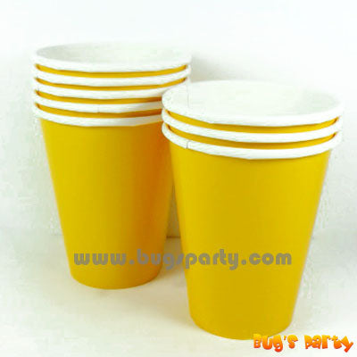 Yellow Sunshine Cups