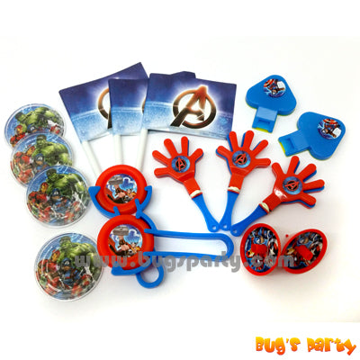 Avengers Favors Pack