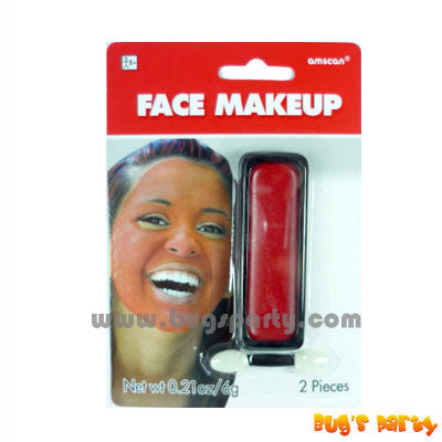 Face Makeup Red